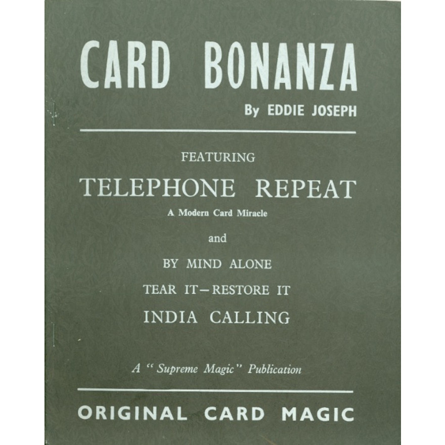 Card Bonanza feat. Telephone Repeat