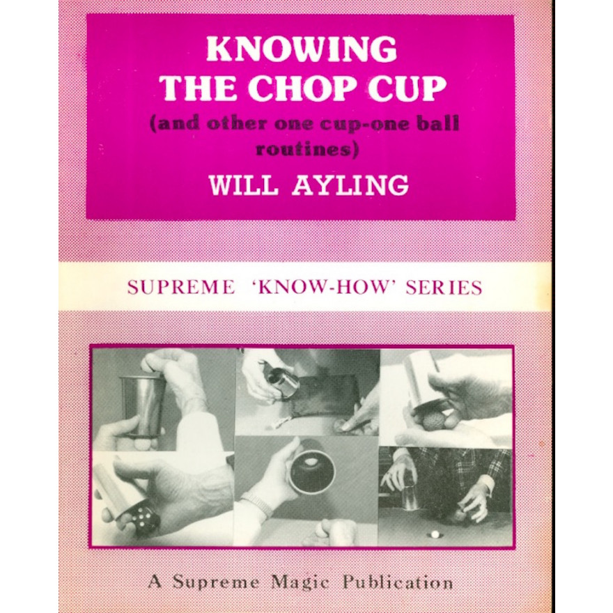 Knowing The Chop Cup (Supreme 'Know-How' Series