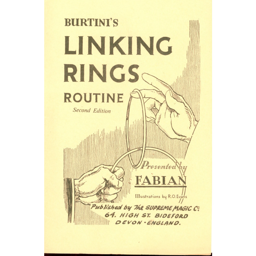 Burtini's Linking Rings Routine
