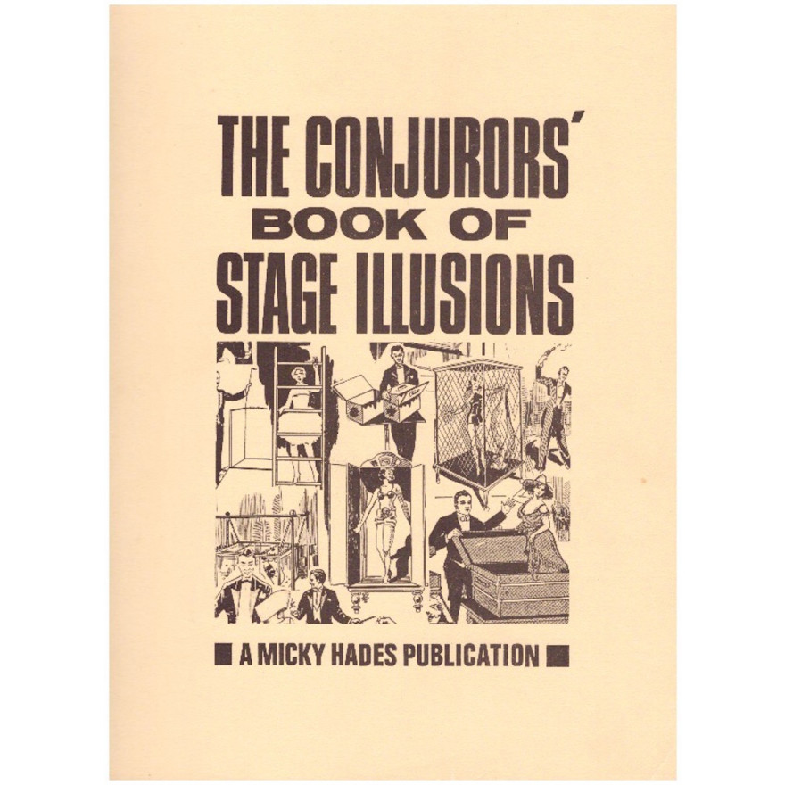 The Conjuror's Book of Stage Illusions (Raucherexemplar)