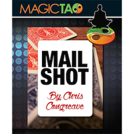 Mail Shot Red by Chris Congreave and Magic Tao (Card Magic)