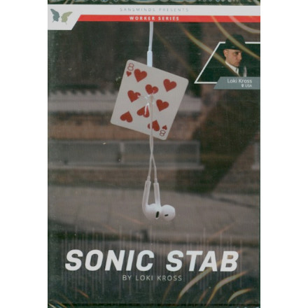 Sonic Stab by Loki Kross (DVD)