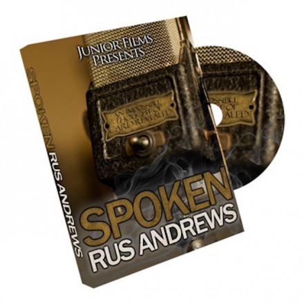 Spoken by Rus Andrews (DVD)