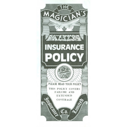 The Magician's Insurance Policy