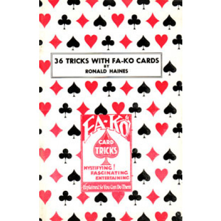 36 Tricks with Fa-Ko Cards