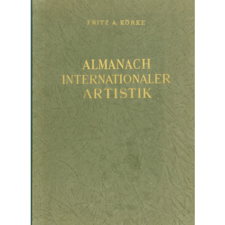 Almanach Internationaler Artistik 1947-1948