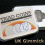 Triad Coins (UK Gimmick und Online Video-Instruktion)