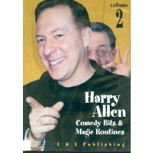 Harry Allen Comedy Bits and Magic Routines #1