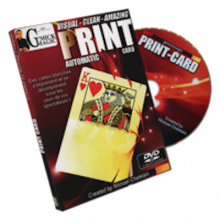Print Automatic Card (DVD & Gimmick)