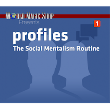 Profiles - The Social Mentalism Routine (DVD und Gimmick)