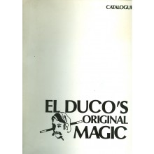 El Duco's Original Magic Catalogue. Kleines Konvolut.