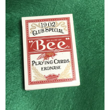 """Bee"" Playing Cards Erdnase. 1902 Club Special. (red)"