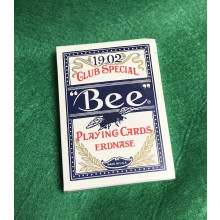 """Bee"" Playing Cards Erdnase. 1902 Club Special. (blue)"