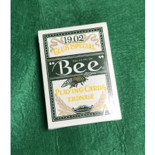 """Bee"" Playing Cards Erdnase. 1902 Club Special. (green)"