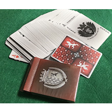 HERALDRY DECK SANGUINE PLAYING CARDS