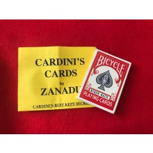 Cardini's Cards by Zanadu (Cardini's Best Kept Secret)