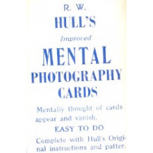 R.W. Hull's Mental Photography Cards