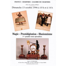 Magie-Prestidigitation-Illusionisme. (Octobre 1996)