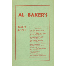 Al Baker`s Book One
