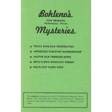 Bohleno's Mysteries - Five Original Performance - Proven