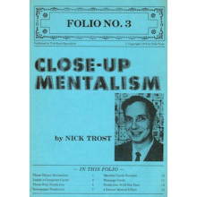 Close-up Mentalism by Nick Trost - Folio No.3