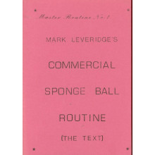 Commercial Sponge Ball Routine (The Text) Sonderpreis