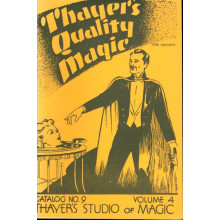 Thayer's Quality Magic Catalog No.9 - Volume 4