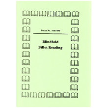 Blindfold Billet Reading (gelocht)