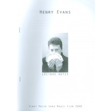 Henry Evans Lecture Notes
